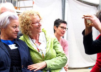 MW16 Impressionen - Marlies Pufahl, Walla Kuhn, Rosel Grassmann und Joachim Harbut