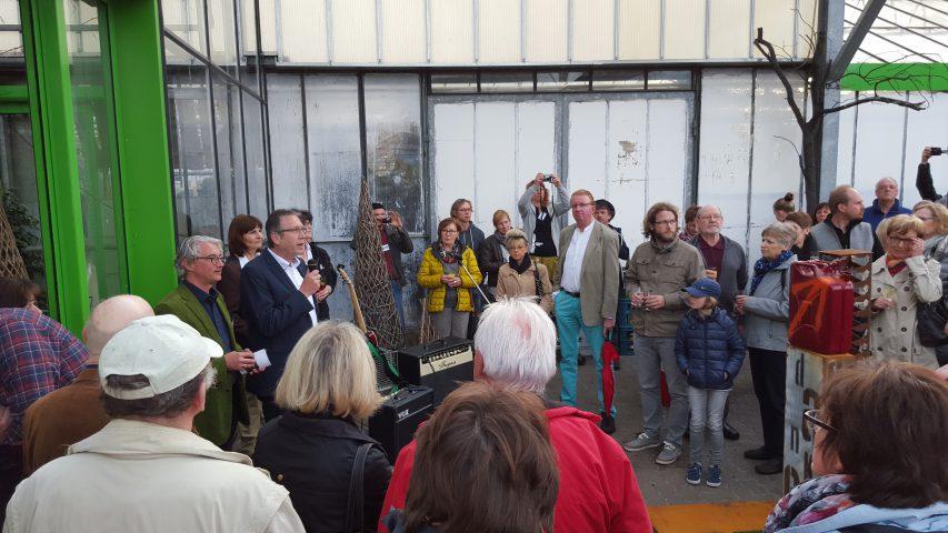 MW16 Opening - Schirmherr Stadt Aschaffenburg vertreten durch Jürgen Herzing
