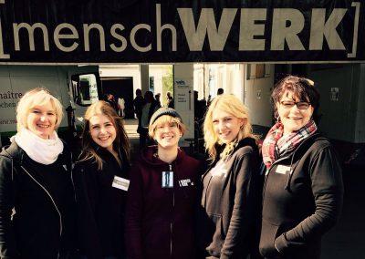 MW17 Impressionen – Team: Alex, Allegra, Eva, Antonia und Alex