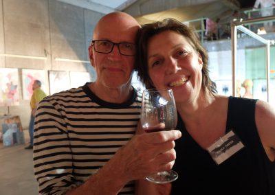 MW18 Impressionen - Reinhold Mehling und Bianca Thater