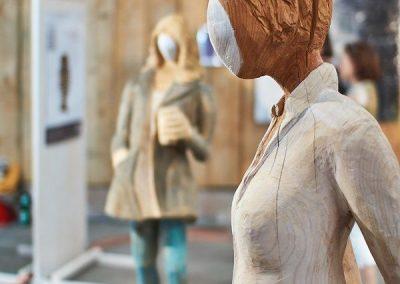 MW18 Impressionen - Kunst von Bianca Thater - Foto © FRIZZ Aschaffenburg | Thomas Minnich