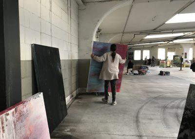 MW19 Impressionen - Aufbau Petra Reissmann