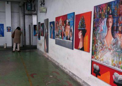 MW17 Impressionen – Kunst von Dimitri Vojnov