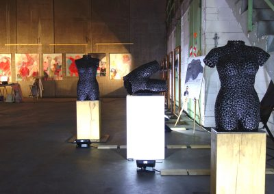MW18 Impressionen - Skulpturen von Harald Hertel und Gemälde von Petra Schott